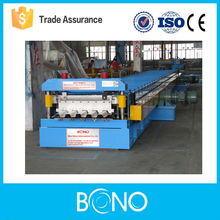 Metal deck cold roll forming machine