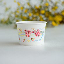 Disposable custom printed salad paper bowls for food