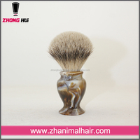 High cost performance resin handle private label men's shaving brush