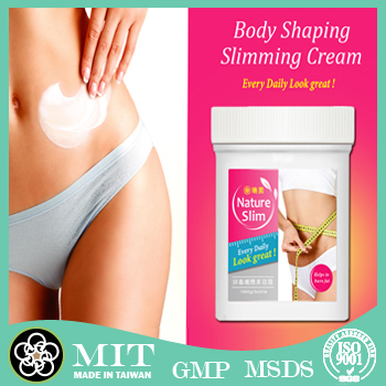 Cellulite slimming hot cream of high effect weight loss products