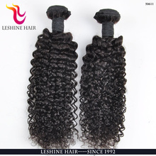 Large Stock Natural Color Sexy Cheap Unprocessed virgin hair of tight curly