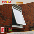 Australia standard double glazed window,power coating aluminum awning window