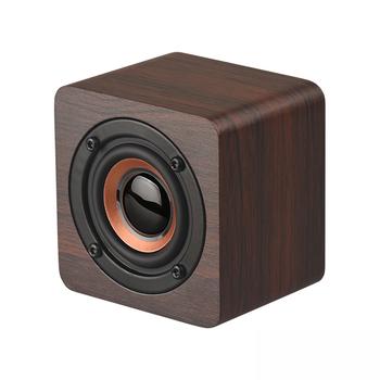 High quality 3W Mini Portable Wood Bluetooth Speaker