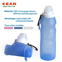 Hot Sale Eco-friendly Soft Silicone Aluminium Drink Bottle