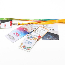 VOGRACE cheap OEM custom PVC plastic card printed School/Student/Office/Staff/PVC/ID/Name/Business cards with your design no MOQ