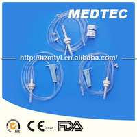 Needleless clinic devices IV fluids IV set with Y port injection manufacture