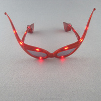 red ox horn masquerade party led glasses for valentine's day