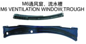 FOR MAZDA 6 2002-2004 Auto Car ventilation window trough