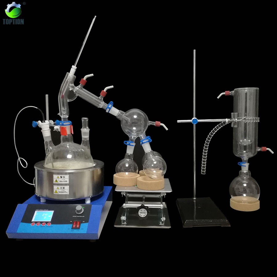 2L vacuum distillation equipment for essential oil