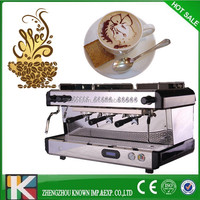 high quality 3 group Italian commercial industrial electrical coffee maker machine
