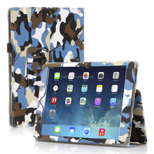 Camouflage Leather Stand Case For iPad 5 iPad Air