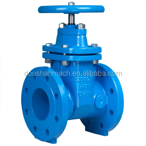 Good quality DIN gate valve PN16 with brass cover