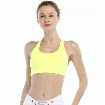best choice of yoga bra custom wholesale fitness sports bra women