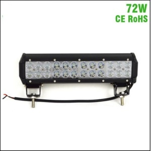 high power 12 inch 12v waterproof Combo Beam auto car 72W led light bars