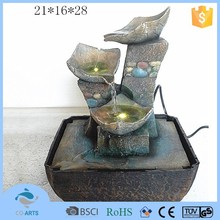 New arrival 3 tier led light water fountain project