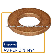 Sintering or machine tooling solid bronze plate discs slip ring and wear pad