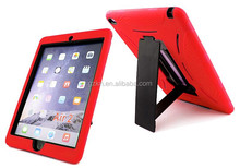 Robot handle combo tablet cover for iPad Air 2 case drop resistant function