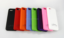 2200mah rohs Battery Charger power bank case for iphone 5,colorful 2200mah For Apple iPhone 5/5S battery case