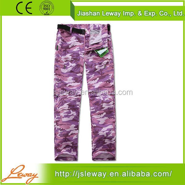 alibaba china supplier high quality hiking climbing trekking pants
