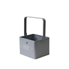 Grey Galvanized Housekeeping pegs box