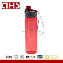 BPA free wholesale plastic drinking water bottle for outdoor sport use