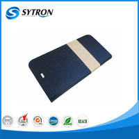 flip stype wallet card holder China genuine leather case for iphone5s