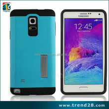 2016 china supplier TPU+PC Hybrid Armor Case For Samsung Note 4