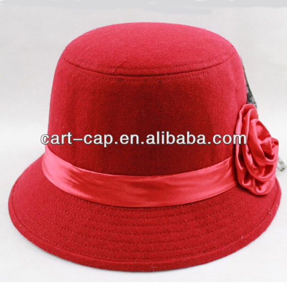 2013 new trends red fashion girls cap