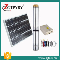 Solar powered water submersible water pumps agricultural irrigation water pump