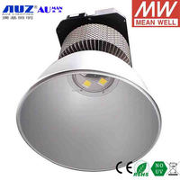 High quality Epistar COB 3000K Epistar Chips Warm white Meanwell inner driver 200W LED high bay light