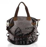 zm21239a new 2016 restoring ancient ways canvas women tote packaging bag Korean style one shoulder canvas bags
