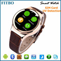 2016 Europen Fashion SIM/FM smart watch and phone oem for huawei p8