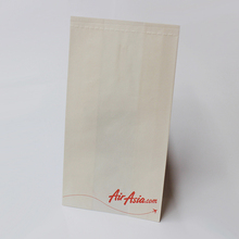 Inflight eco-friendly coated paper vomit bag/ airsickness bag