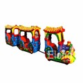 Happy train electric trackless train kids train equipment for sale amusement park