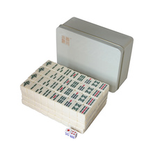 Custom Portable Mini Chinese Mahjong Set Tiles for Travel Mah-Jong