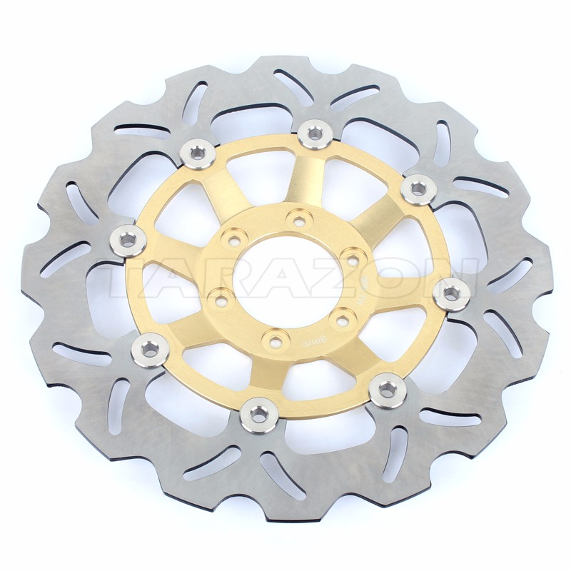 Front wave floating brake disc rotor for HONDA CBR 250 RR