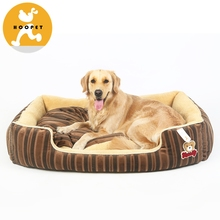 New Style Soft Double Dog Kennel Slipper Bed Pets