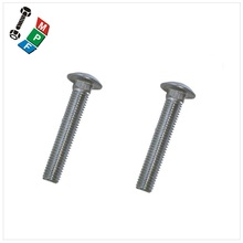 Taiwan 2018 Manufacturer High Quality Carriage Bolt with Mushroom Head and Square Neck screw