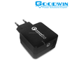 mobile phone travel charger,home charger,wall charger with Charger qualcomm quick wall charger
