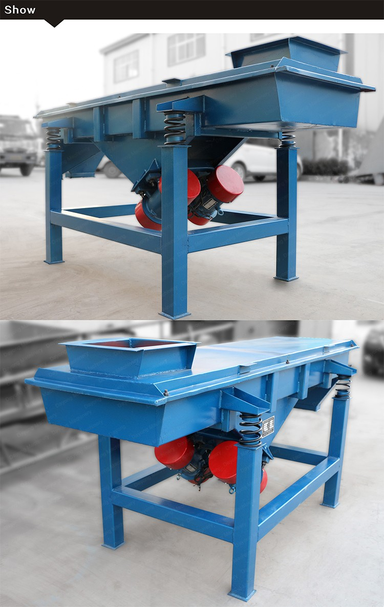 Unbelieve Long Service Life Linear Sand Ore Iron Powder Vibrating Screen