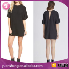 Summer Fashion Sexy Ladies Short Sleeve Club Midi Dress