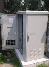 IP65 waterproof outdoor telecom battery cabinet with Heat exchanger
