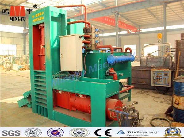 Working Stable top quality low price best selling hot sale wooden shavings baler machine/wood chip balling machine