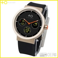 Factory price waterproof android 4.4 round best smart watch 2014