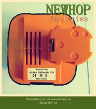 Ni-MH power tool rechargeable battery 12v 3000mah