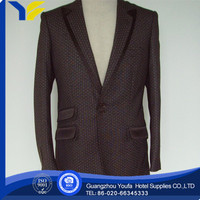 anti-wrinkle hot sale polyester/rayon ladies office suit styles