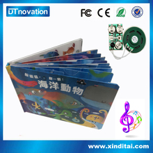 Custom fantastic useful childrens music button book