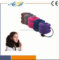 Infrared heating function medical neck traction device