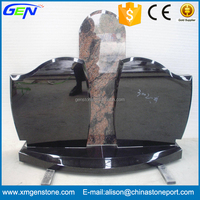 Factory Sale New Style Joint Granite Head Tombstone