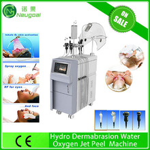 new listing water oxygen jet device for acne removal treatment